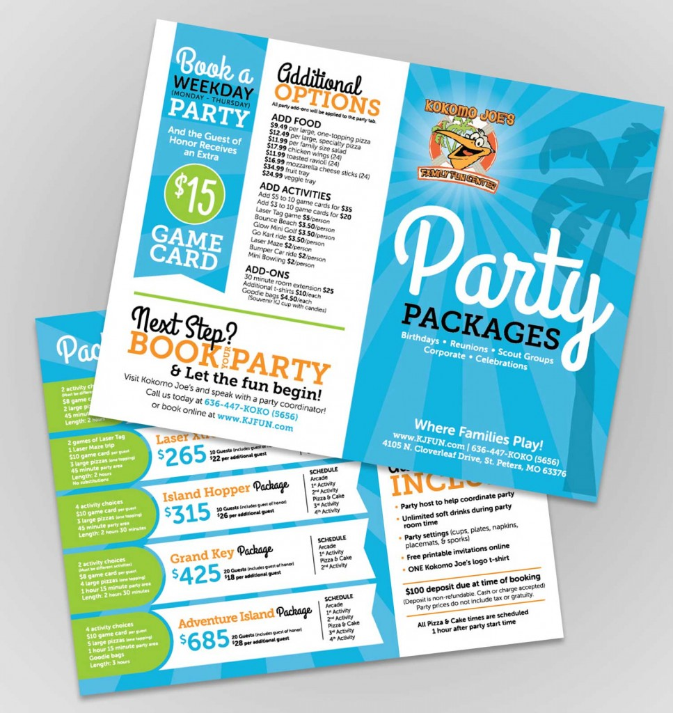 party-brochure