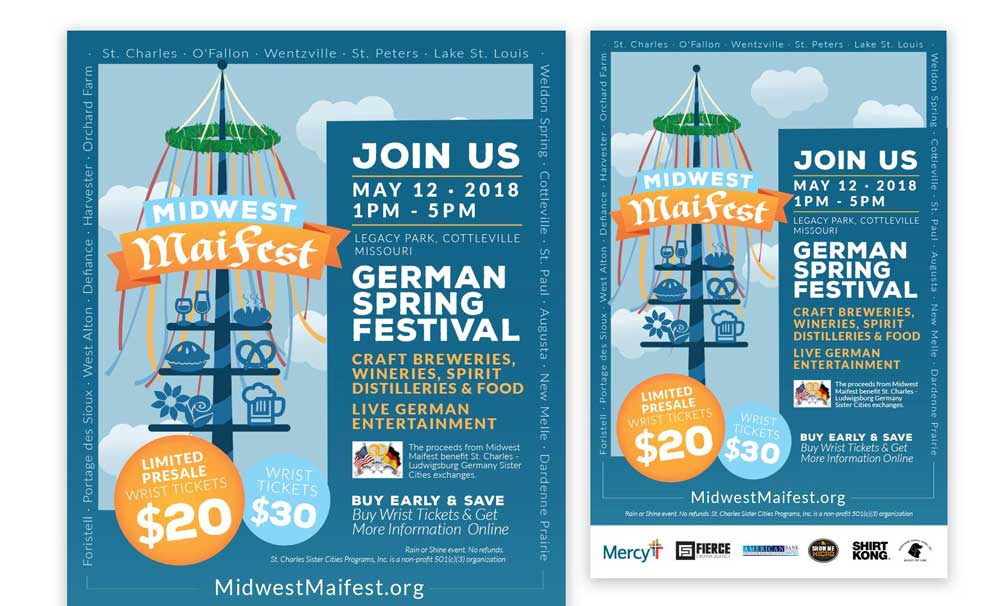 Maifest-Flyers